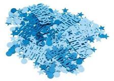 (1,7€/10g) Konfetti HAPPY BIRTHDAY Blau Holografie Party Spaß Tisch Dekoration