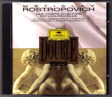 Mstislav Rostropovich Shostakovich Glazunov Tartini Vivaldi Boccherini DG 2cd