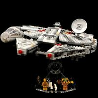 Acryl Display Stand Acrylglas Standfuss für LEGO 75257 Millennium Falcon