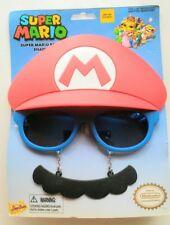 Sun-Staches - Super Mario Funny Novelty Funny Sunglasses Sun Glasses