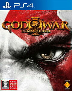 GOD OF WAR 3 Remastered Sony Playstation 4 PS4 Video Games From Japan USED