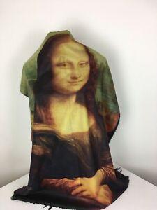 Echarpe laine et cachemire Mona Lisa