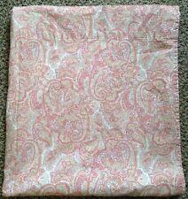 Ralph Lauren Harbor View Full Flat Sheet Orange Pink Designer Cotton