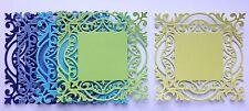 Cheery Lynn Decorative Frame Die Cuts - Blue / Green (pack of 5)