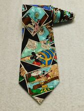 Mickey Inc Disney Mickey Mouse Comic Book Necktie Tie