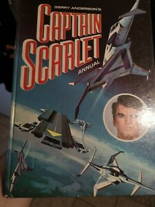 Captain Scarlet 1967 Annual CENTURY 21 PUBLISHINGS  - GERRY ANDERSON -