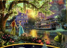 "Thomas Kinkade Disney ""The Princess And The Frog "" Boxless 500pc Puzzle *NEW*"