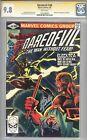 Daredevil #168 CGC 9.8 1981 1st Electra! Stan Lee Signature! WP! K8 103 cm