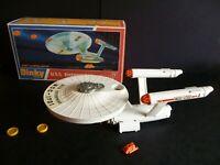 Dinky No.358 Star Trek USS Enterprise 1976 with Shuttle craft, Photon Torpedoes