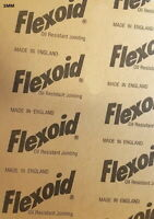 GASKET PAPER MATERIAL - FLEXOID - OIL & WATER RESISTANT - 1mm A4 Sheet