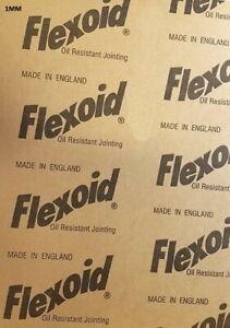 GASKET PAPER MATERIAL - FLEXOID - OIL & WATER RESISTANT - 1mm A4 Sheet