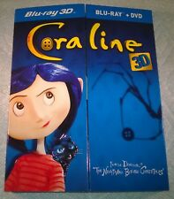 Coraline 3D (2011, Canada) Pop-Out / Pop-Up Slipcover Only