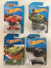 Hot Wheels Lot of 4 Batman Halo T-Hunts '63 T-Bird Loopster NIP