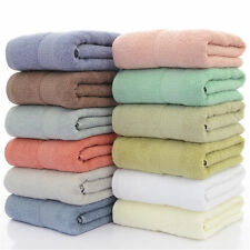 Set of 1/2/4 Luxury Large Cotton Bath Towel Gym Spa Beach Towels 28x55