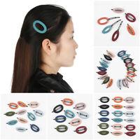 ovale d'épingles à cheveux acrylate de barrettes assister hairgrips de résine