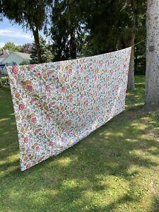 Vintage Springmaid Cal King Floral Comforter