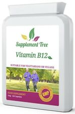 Vitamin B12 Methylcobalamin 1000mcg 120 Tablets Supports Nervous Immune System