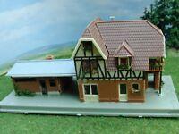 Bahnhof Reichenbach  mit 2 Bahnsteigen Spur N A70