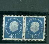 Berlin, Heuss III Nr. 185 gestempelt Paar