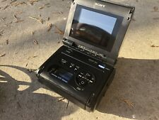 sony walkman video/recorder/monitor GV- S50 NTSC / Plus 3 Chargers