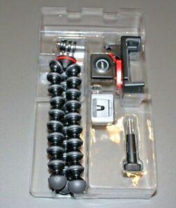JOBY JB01515 GripTight Action Kit Tripod - Red/Gray/Black