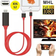 Lightning To HDMI AV TV Adapter Video Output MHL Cable For iPad iPhone XS MAX XR