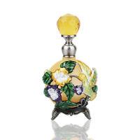 Vintage Crystal Metal Perfume Empty Hummingbird Bottle Wedding Lady Gifts 25ML