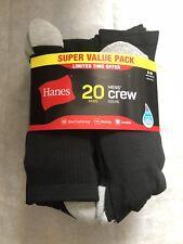 New Hanes Mens Crew Socks