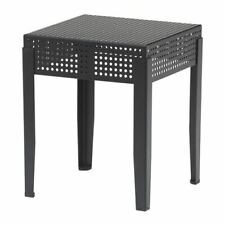 *New* SJALVSTANDIG Stool, in/outdoor Black *Brand IKEA*