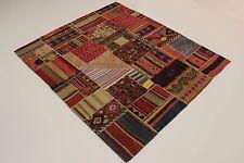look antique nomades Kelim patchwork PERSAN TAPIS tapis d'Orient 2,06 x 1,80