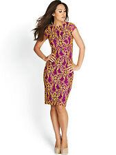 Women's Scoop Neck Cap Sleeve Formal Wiggle, Pencil Dresses