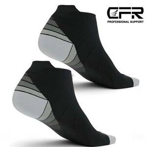 Ankle High Compression Socks Arch Running Support Plantar Fasciitis Men Women US