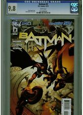 BATMAN #2 CGC 9.8 MINT WHITE PAGES 2011 GREG CAPULLO ART AND SCOTT SNYDER STORY