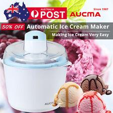 Aucma Electric Ice Cream Maker Frozen Sorbet Machine Anti skid Rubber On Bottom