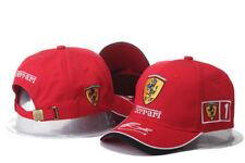 Ferrari² F1 Logo Hat Brand New Baseball Cap Outdoors Adjustable Strap Dad Hat B