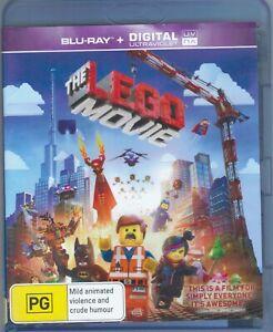 The Lego Movie Blu-Ray Movie FREE POSTAGE!
