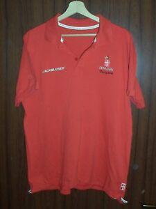 DENMARK OLYMPIC GAMES 2008 Beijing Jersey Shirt Danish team WORN size XL