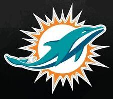 Window Bumper Sticker NFL Football Miami Dolphins NEW
