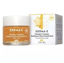 Derma E  Vitamin C Instant Radiance Citrus Facial Peel Full Size 2oz ~ Exp:1/22