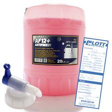20L Mannol Longlife Kühlerfrostschutz Kühlmittel AF12+ bis - 40°C + Auslaufhahn