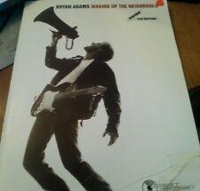 Bryan Adams  Waking Up the Neighbours: Guitar/TAB Songbook Sheet Music Song Book