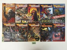 WARHAMMER MONTHLY 10 ISSUE BUNDLE LOT BLOODQUEST REDEEMER MALUS DARKBLADE