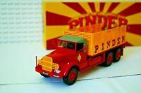 CIRQUE PINDER: Tracteur MACK 1953 transport chapiteau N°10 1/43 EME  IXO DIREKT