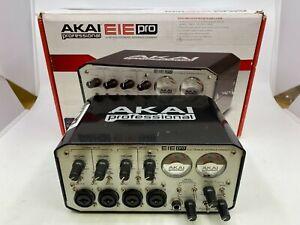 AKAI EIE Pro Audio Interface - 24-bit 96KHz USB with original Box