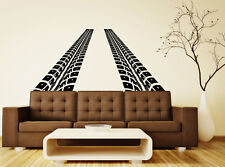 Road Traces of Tires Car Wall Decal Vinyl Sticker Nice Home Art  Decor (3tr4k)