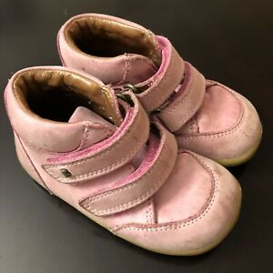 Bobux Leather Shoes Size 22 (US 6) Toddler Pink