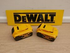 BRAND NEW PAIR OF   NEW LOGO   DEWALT DCB184 18V  5 AH XR LI-ION SLIDE BATTERIES