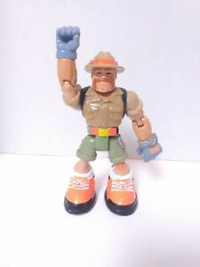 """Rescue Heroes SEYMORE WILDE Launch Force 2001 Action Figure 6.5""""  Fast Shipping"""