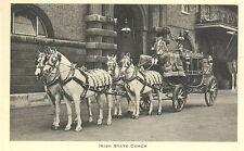 TUCK - Irish State Coach - Royal Mews Buckingham Palace - Unposted 1952