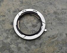 Genuine Canon Lens Mount Converter N Nikon F lens to Canon FL/FD Infinity (1718)